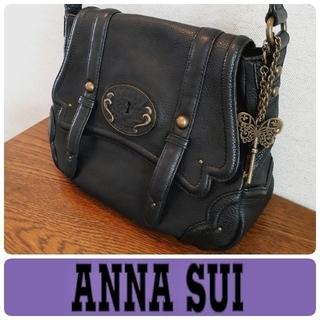 ANNA SUI - ANNA SUI/アナスイ ◆本革◆ショルダーバッグ