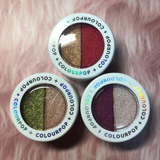カラーポップ(colourpop)のCOLOURPOP スーパーショックシャドウ 3色セット(アイシャドウ)