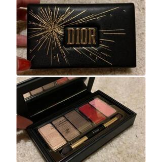 Dior - Dior シグネチャー アイ&リップパレット 限定品 クリスマスコフレ
