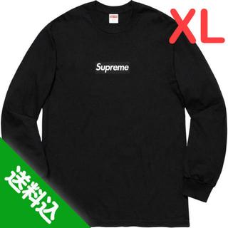 Supreme - 【XL】SUPREME Box Logo L/S Tee 黒 ブラック