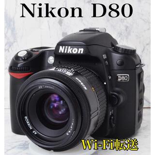 Nikon - ビギナー向け●Wi-Fi転送●届いてすぐ使える●ニコン D80