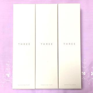スリー(THREE)のTHREE スリー バランシングフォーム 3本セット 【新品 未開封】(洗顔料)