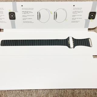 アップルウォッチ(Apple Watch)のApple watch レザーループ 純正(腕時計(デジタル))