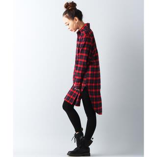 JOURNAL STANDARD - JUNOAH 美品 チェックシャツ ロング