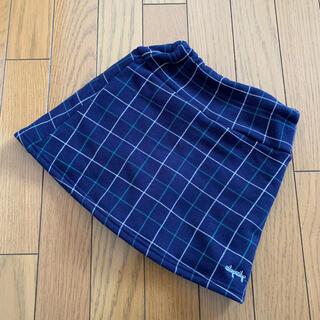 ベベ(BeBe)の【SLAP SLIP】110インナーパンツ付きスカート 裏起毛 秋冬(スカート)