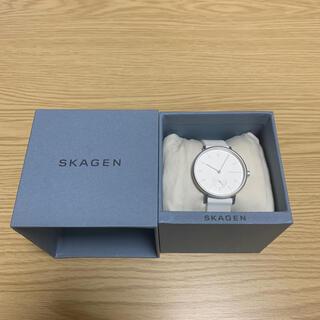 スカーゲン(SKAGEN)の【美品】SKAGEN スカーゲン 腕時計 ユニセックス (腕時計)