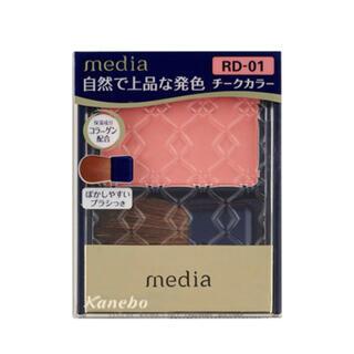 カネボウ(Kanebo)のメディア ブライトアップチーク RD01(チーク)