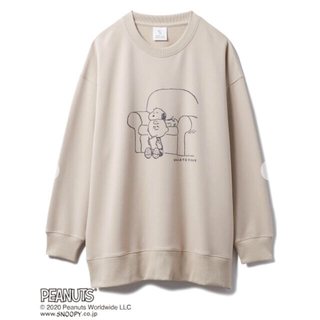gelato pique - 完売色🌷新作新品🍀ジェラートピケ 【peanuts】裏毛プルオーバー