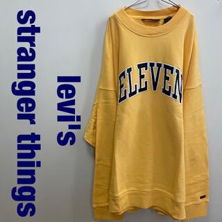 Levi's - levi's × stranger things スウェット トレーナー