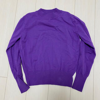 ルシェルブルー(LE CIEL BLEU)のルシェルブルー  ニット パープル 紫(ニット/セーター)