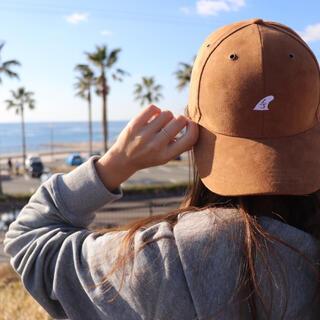 ロンハーマン(Ron Herman)の西海岸系☆LUSSO SURF スウェード刺繍キャップ 帽子 RVCA(キャップ)