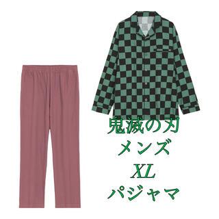 GU - 鬼滅の刃 メンズ XL 長袖 パジャマ 未開封