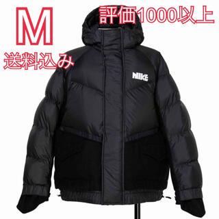 ナイキ(NIKE)のM Nike sacai Men's Parka サカイ ナイキ 黒(ダウンジャケット)