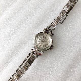 オリエント(ORIENT)のアンティーク ORIENT オリエント  21石 レディース手巻き腕時計 稼動品(腕時計)