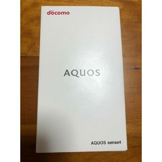 SHARP - AQUOS sense4 シルバー Simフリー