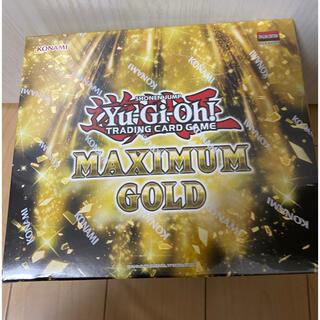 ユウギオウ(遊戯王)の遊戯王マキシマムゴールド 5BOX入り1カートン 未開封(Box/デッキ/パック)