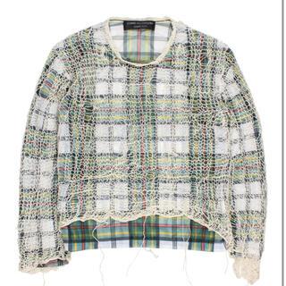 コムデギャルソンオムプリュス(COMME des GARCONS HOMME PLUS)のコムデギャルソンオム メッシュレイヤード(Tシャツ/カットソー(七分/長袖))