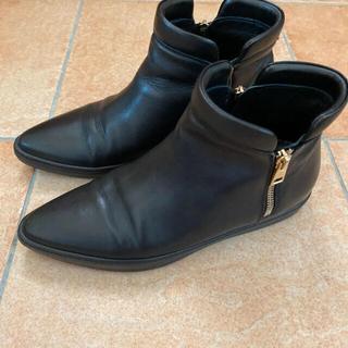 FABIO RUSCONI - 【❤︎ファビオルスコーニ ショートブーツ ブラック 36❤︎