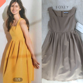 FOXEY - 【極美品】FOXEYフォクシー モダンエンパイアワンピース40 ワンピース