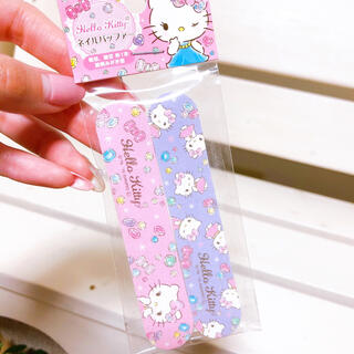 サンリオ(サンリオ)のキティちゃん♡ ネイル用 やすり2本セット(ネイルケア)
