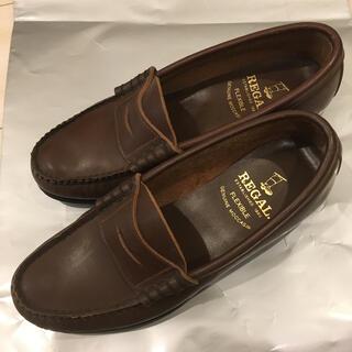 リーガル(REGAL)のREGAL ローファー 24cm 茶色(ローファー/革靴)