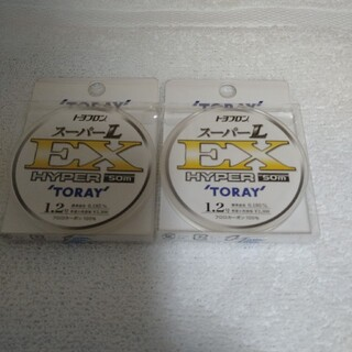 東レ (TORAY) トヨフロン スーパーL EX ハイパー【新品未使用】(釣り糸/ライン)
