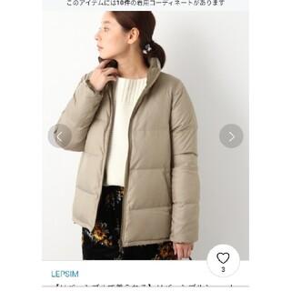 LEPSIM - LEPSIM リバーシブルダウンジャケット サイズL ベージュ