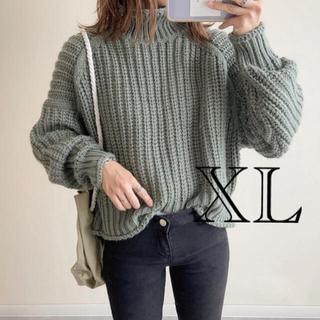 エイチアンドエム(H&M)のタイムセール チャンキーニット XL(ニット/セーター)