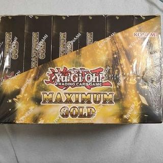 ユウギオウ(遊戯王)のEU版 遊戯王 マキシマムゴールド 6ボックス(Box/デッキ/パック)
