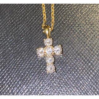 アイファニー(EYEFUNNY)のアイファニー ダイヤモンドクロスとチェーン45(ネックレス)