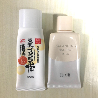 エリクシール(ELIXIR)のおしろいミルク 豆乳イソフラボン化粧下地(化粧下地)