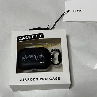 サカイ(sacai)のAirPods Pro Case LOVE  sacai(ヘッドフォン/イヤフォン)