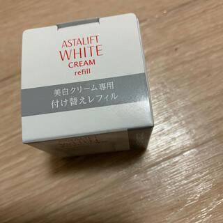 アスタリフト(ASTALIFT)の新品 アスタリフト WHITE美白クリーム(フェイスクリーム)