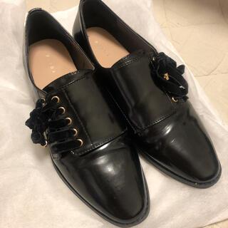 ランダ(RANDA)のランダ  黒 ローファー リボン(ローファー/革靴)