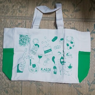 カルディ(KALDI)のカルディトート 黄緑(トートバッグ)
