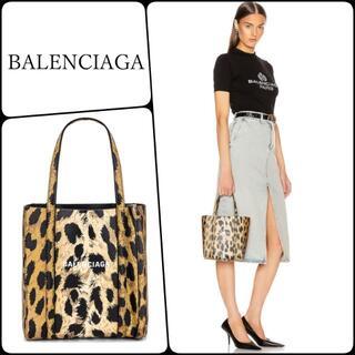 Balenciaga - 月末セール!残り1個【バレンシアガ】Everyday XXS レオパード トート