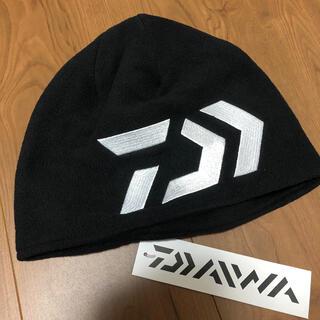 DAIWA - 新品 ダイワ フリースキャップ ニット帽 ブラック