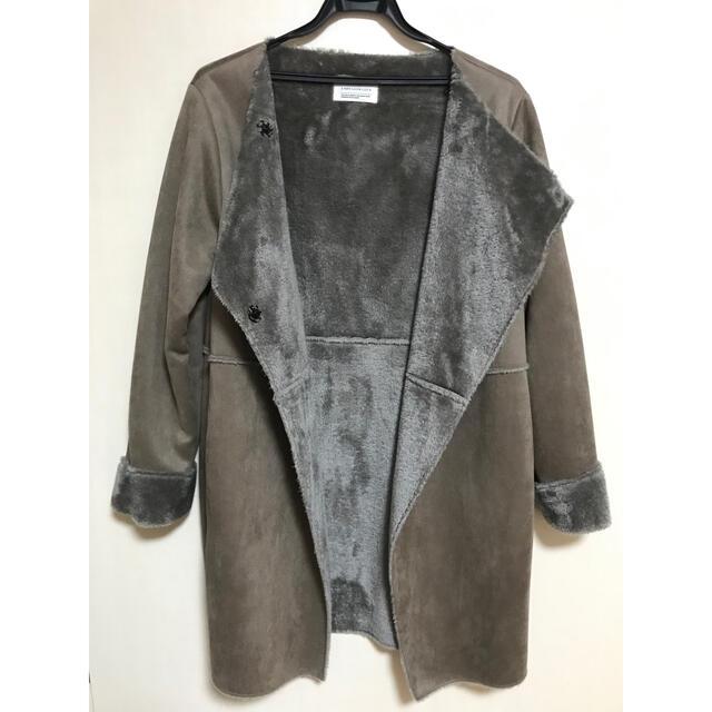 LUCA(ルカ)のLUCA フェイクムートンコート ※値下げしました レディースのジャケット/アウター(ムートンコート)の商品写真
