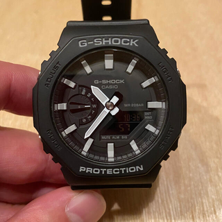 G-SHOCK - G-SHOCK GA-2100-1AJF カーボンコアガード 美品