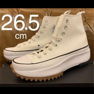 CONVERSE - 新品❗️converse Run Star Hike ホワイト 26.5cm