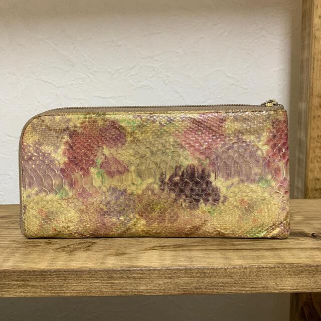 ATAO(アタオ)のアタオ リモ アスティ パイソン 財布 レディースのファッション小物(財布)の商品写真