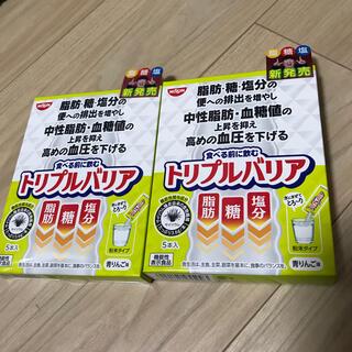 ニッシンショクヒン(日清食品)の日清食品 トリプルバリア5本入✖️2箱(その他)