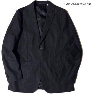 トゥモローランド(TOMORROWLAND)の新品 TOMORROWLAND ストレッチ ウール テーラード ジャケット(テーラードジャケット)
