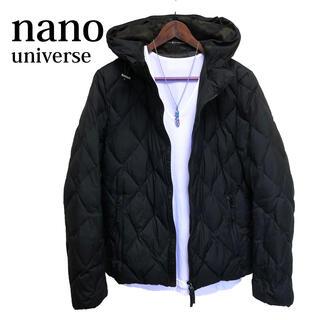 nano・universe - nanouniverse ダウンジャケット キルティングジャケット 黒 高級感