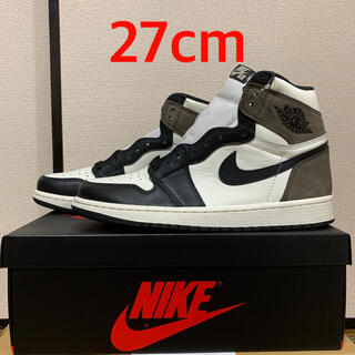 NIKE - NIKE AIR JORDAN 1 HIGH OG GS MOCHA-BLACK