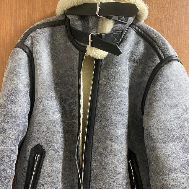 ZARA(ザラ)のZARAボアブルゾン メンズのジャケット/アウター(ブルゾン)の商品写真