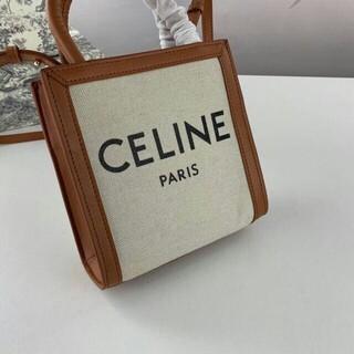 セリーヌ(celine)のCELINE セリーヌ  2way  ミニ キャメル(ショルダーバッグ)