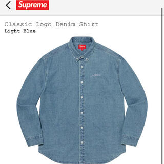 Supreme - supreme Classic Logo Denim Shirt 定価以下 M