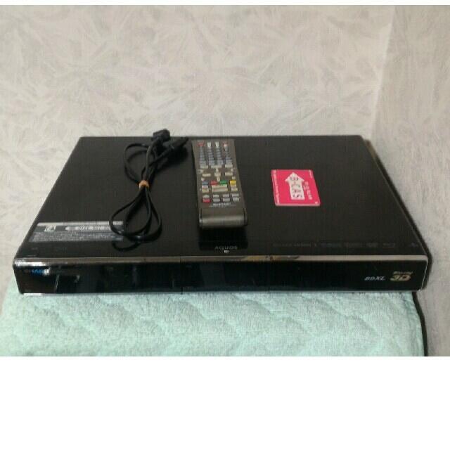 SHARP(シャープ)のシャープ BD-HDW63 難あり スマホ/家電/カメラのテレビ/映像機器(ブルーレイレコーダー)の商品写真