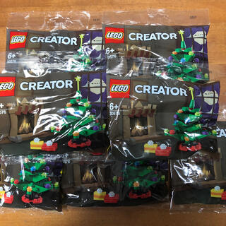 Lego - 7個セット LEGO レゴ クリスマスツリー 30576 非売品